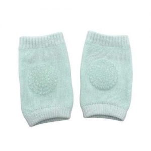 4aKid Safety Baby Knee Pads - Mint Green Crawling - 4aKid