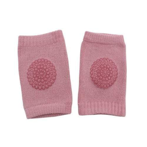 4aKid Safety Baby Knee Pads - Light Pink Crawling - 4aKid