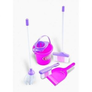 Jeronimo Toy Cleaning Play Set Pretend Play Toys - 4aKid