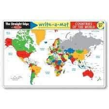 Melissa & Doug Melissa & Doug - Countries Of The World Color-A-Mat Educational Toys - 4aKid