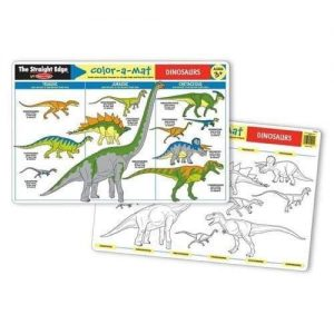 Melissa & Doug Melissa & Doug - Dinosaur Color-A-Mat Educational Toys - 4aKid