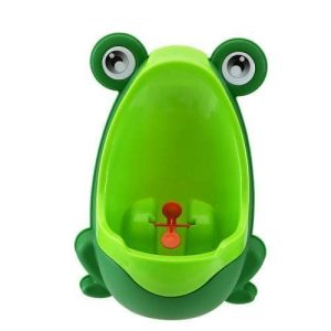4aKid Safety Easy-Peesy Froggy Urinal - Green Potty Training - 4aKid