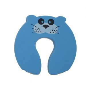 4aKid Safety Foam Door Stopper - Blue Mouse Home Safety - 4aKid