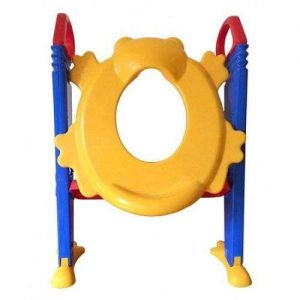 4aKid Froggie Potty - Training Toilet Stairs Potty Training - 4aKid