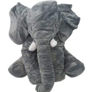 4aKid Elephant Baby Pillow - Grey Plush Toys - 4aKid