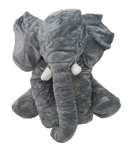 4aKid Elephant Baby Pillow - Grey Plush Toys - 4aKid