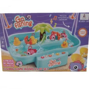 Jeronimo Go Fish Water Game Interactive Toys - 4aKid