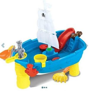 Jeronimo Pirate Boat Sand & Water Table Sand and Beach Toys - 4aKid