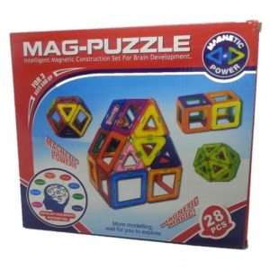 4aKid Magnetic Mag-Puzzle 28pc Educational Toys - 4aKid