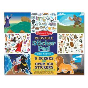 Melissa & Doug Melissa & Doug Reusable Sticker Pad - Bible Stories Interactive Toys - 4aKid