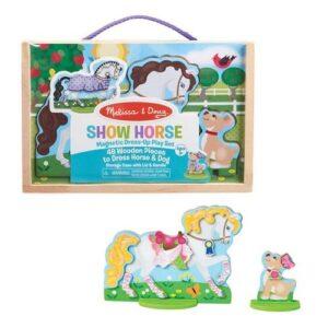 Melissa & Doug Melissa & Doug - Show Horse Magnetic Dress-Up Interactive Toys - 4aKid