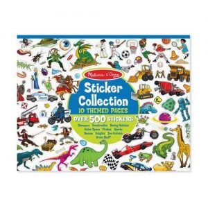 Melissa & Doug Melissa & Doug Sticker Collection - Blue Arts & Crafts - 4aKid