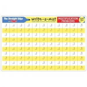 Melissa & Doug Melissa & Doug - Multiplication Color-A-Mat Educational Toys - 4aKid