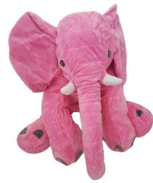4aKid Elephant Baby Pillow - Pink Plush Toys - 4aKid