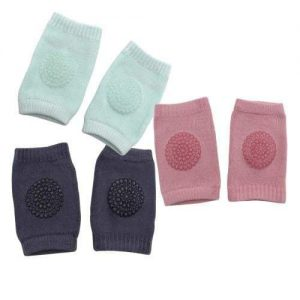 Pack of 3 Baby Knee Pads - Girls 4aKid Safety Crawling