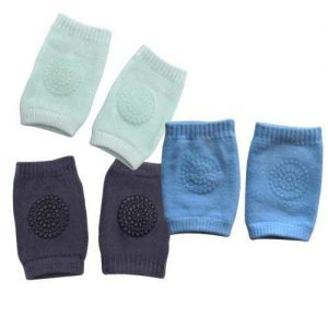 4aKid Safety Pack of 3 Baby Knee Pads - Boys Crawling - 4aKid