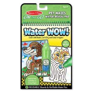 Melissa & Doug Melissa & Doug - Water Wow! Pet Maze Educational Toys - 4aKid