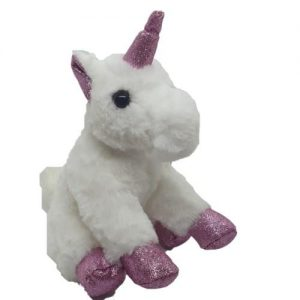 4aKid Sparkly Plush Unicorn - Assorted Colours pink Plush Toys - 4aKid