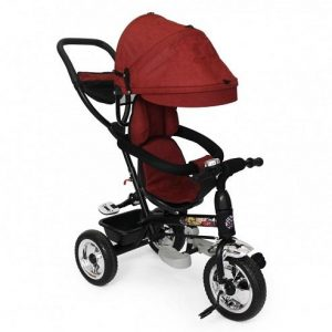 Nuovo Stages Stroller Tricycle - Red Kids Ride-Ons - 4aKid