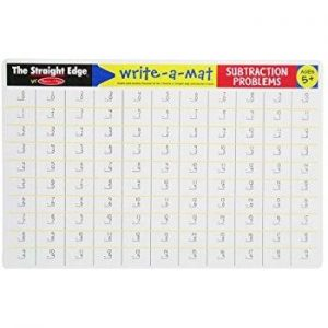 Melissa & Doug Melissa & Doug - Subtraction Color-A-Mat Educational Toys - 4aKid