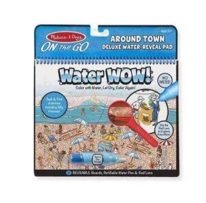 Melissa & Doug Melissa & Doug - Water Wow! Around Town Deluxe Educational Toys - 4aKid