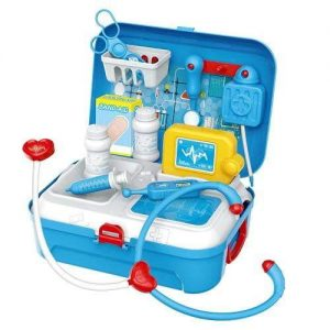 Jeronimo Backpack Suitcase Set – Doctor Pretend Play Toys - 4aKid